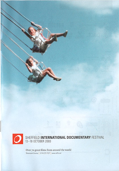 Sheffield International Documentry Festival programme