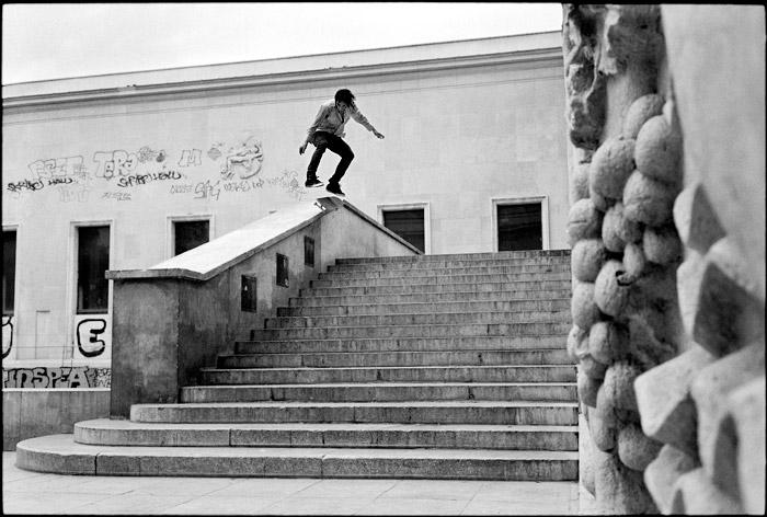 Garrett Hill, Kickflip 50-50, Paris