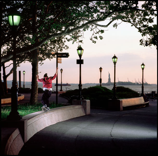 Joey Pressey, Nosegrind pop out, New York