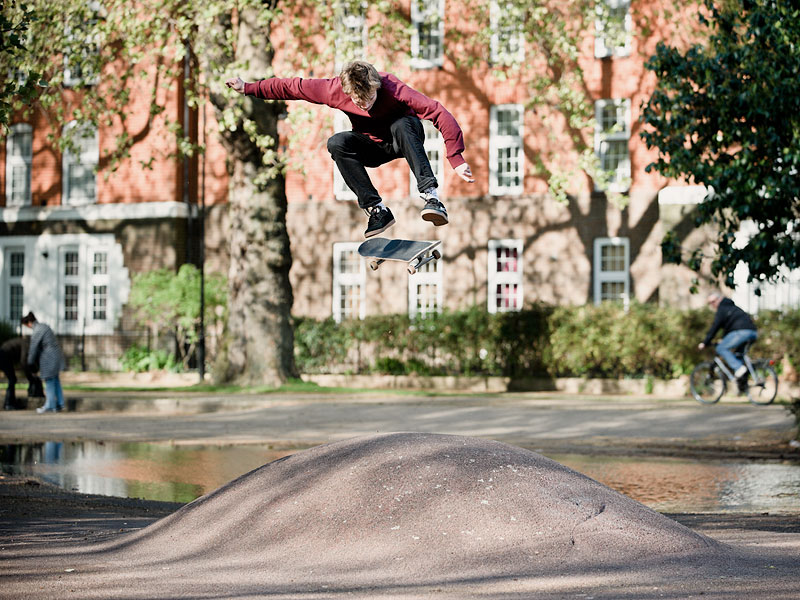 Nick Jensen, Kickflip. London Fields