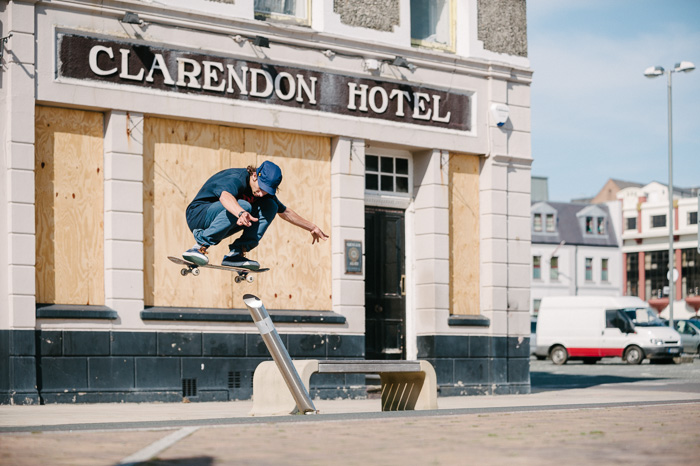 Joe Gavin, switch wallie, Isle of Man.